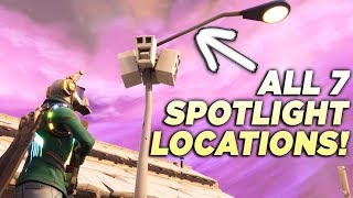 ALL 7 STREETLIGHT SPOTLIGHT LOCATIONS!