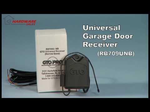 Mighty Mule Rb709u Nb Garage Door Opener Receiver Youtube