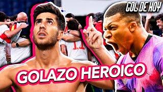 GOLAZ0 de ASENSlO y ESPAÑѦ  a la FlNAL | ¡MBAPPÉ se QUEDA en el PSG! | #goldehoy