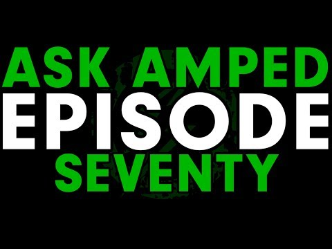 Asked Amped Episode 70 - New Matt Takes the Wheel , Young Wes, and Reading Books