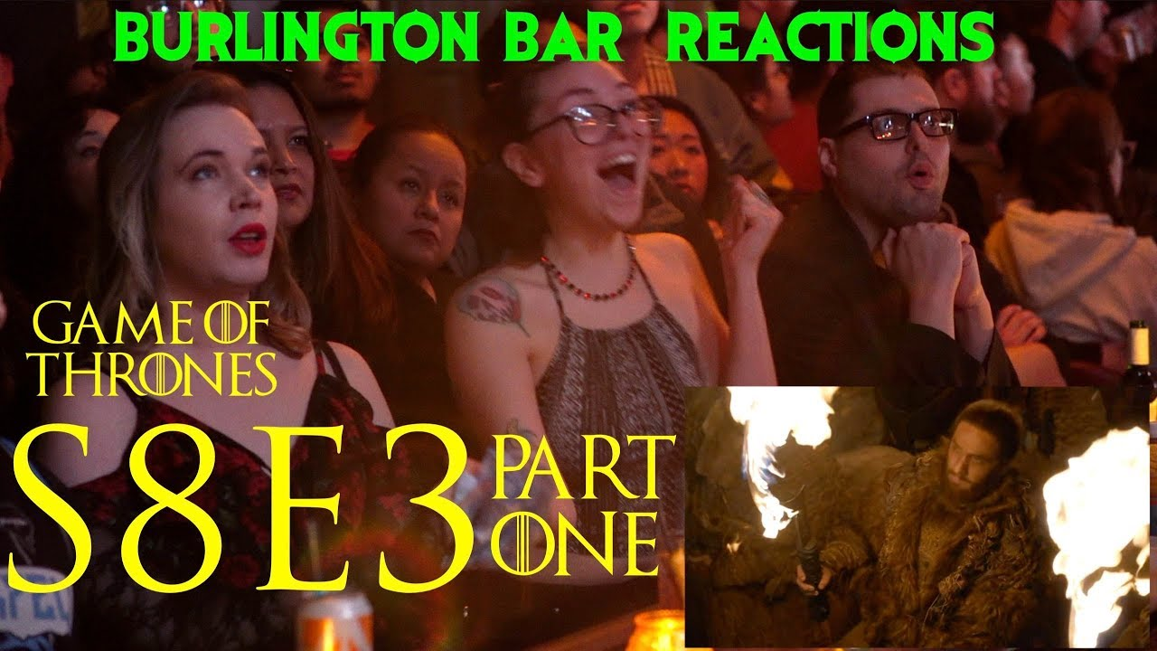 """Download Game Of Thrones // Burlington Bar Reactions // S8E3 """"The Long Night"""" Part 1!"""