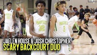 AAU's NEW SCARY DUO Jaelen House & Josh Christopher GO OFF at Nike EYBL Atlanta!!!