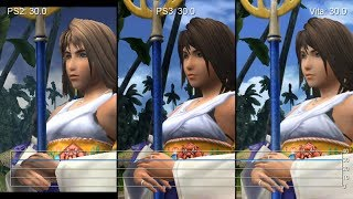 Final Fantasy X/X-2 HD Remaster: PS3 vs. Vita vs. PS2 Frame-Rate Tests