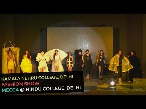 Savage Mind | Themed Fashion Show by Kamla Nehru Students at Hindu College | Mecca 2016