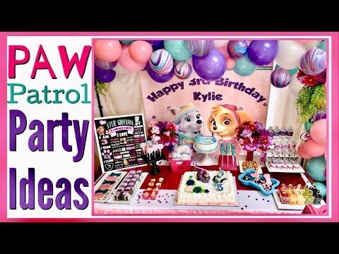 paw-patrol-party-ideas-/-skye-&-everest-/-paw-patrol-birthday-party