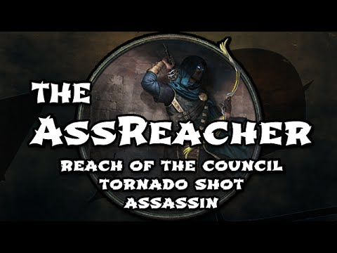PoE Build Guide: The AssReacher Tornado Shot Assassin - Uber Izaro, Atziri & Red Map Farmer
