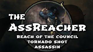 PoE Build Guide: The AssReacher Tornado Shot Assassin - Uber Izaro, Atziri & Red Map Farmer