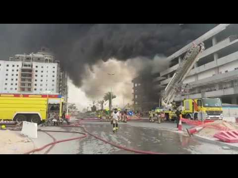 Fire in Jumeirah Village Circle building under control1