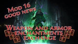 Neverwinter Mod 16 - ALL WEAPON And ARMOR Enchantment Exchange Vendor + Runestones Unforgiven(1080p)