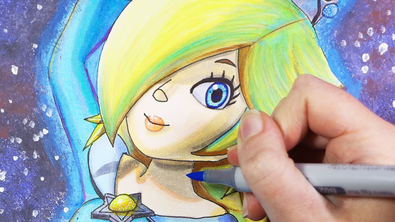 Baby Rosalina coloring page | Free Printable Coloring Pages | 720x1280