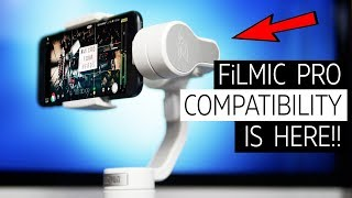 Zhiyun Smooth 4 and Filmic Pro - The Perfect Mobile Combo