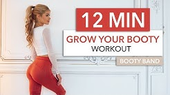 12 MIN GROW YOUR BOOTY - not your thighs / Booty Activation, no squats, knee friendly I Pamela Reif