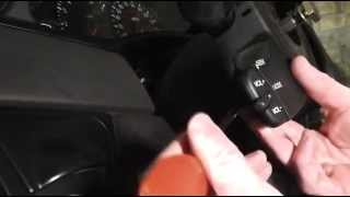 Ford Focus Radio Remote Control Switch Removal