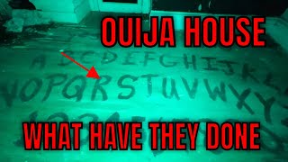 (ABANDONED HAUNTED OUIJA HOUSE) ANOTHER PLANTATION HOUSE WITH A OUIJA BOARD ROOM, DARE TO ENTER?