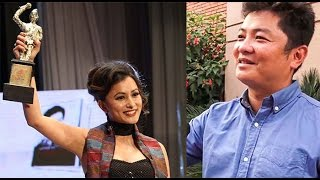 नम्रता र दयाहाङ् उत्कृष्ट नायक-नायिका - Namrata Shrestha And Dayahang Rai - LG FILM AWARD