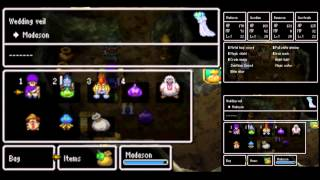 Dragon Quest V [DS] Playthrough #050, Marrying the Heavenly Bianca