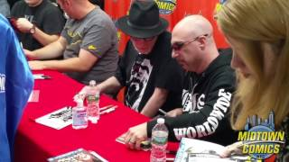 Midtown Comics Batman Day signing with Frank Miller, Scott Snyder, Greg Capullo, and Tom King