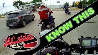 10 things every car driver needs to know about motorcycles
