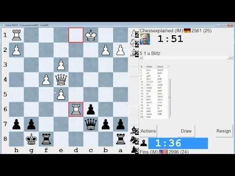 Blitz Chess #102: IM Sielecki (Chessexplained) vs. IM Bartholomew (Slav Defense)