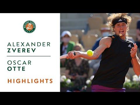 Alexander Zverev vs Oscar Otte - Round 1 Highlights | Roland-Garros 2021