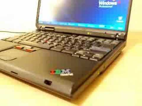 IBM T30 THINKPAD DRIVER FOR PC