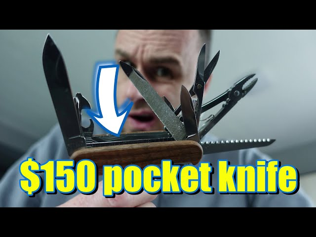 Product Review Victorinox Swiss Army MultiTool SwissChamp Pocket Knife Best Gift for MEN or Gimmicks