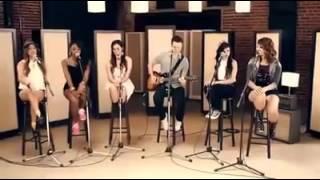 Olha esse grupo cantando