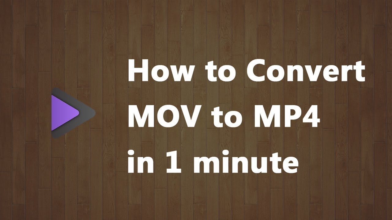 How to Use FFmpeg to Convert MOV to MP4