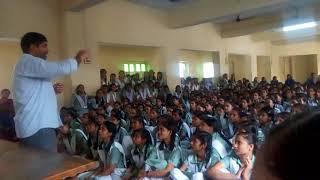 Happy to motivate girl .....In guru nanak khalasa balika inter collage ..Laksha sigra varanasi