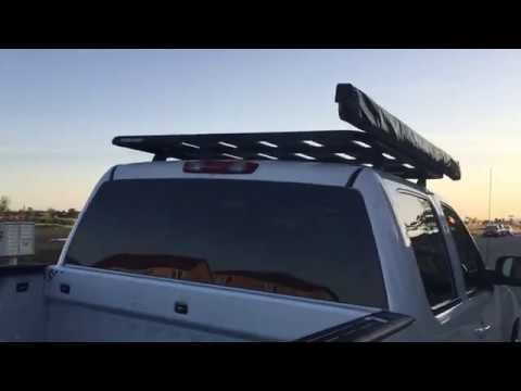 2007 GMC Sierra 1500 Crew Cab Rhino Rack Pioneer Platform And Sunseeker Awning Installed