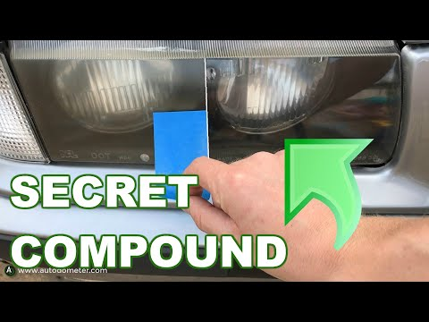 How This Secret Compound Repairs Headlights to New (Like A Pro)