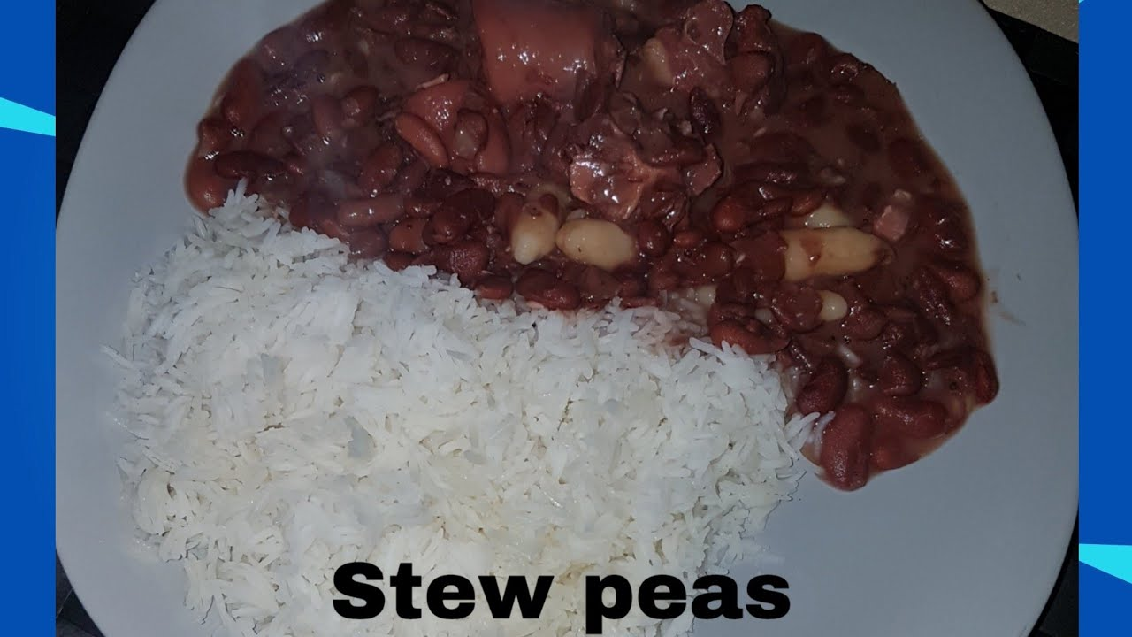 jamaican stew peas /kiissi  youtube