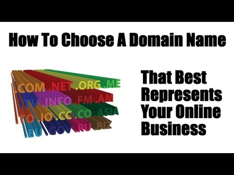 How To Choose A Domain Name That Best Represents Your Online Business