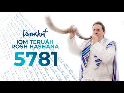 Servicio de Torá Iom Teruah - Rosh Hashana 5781