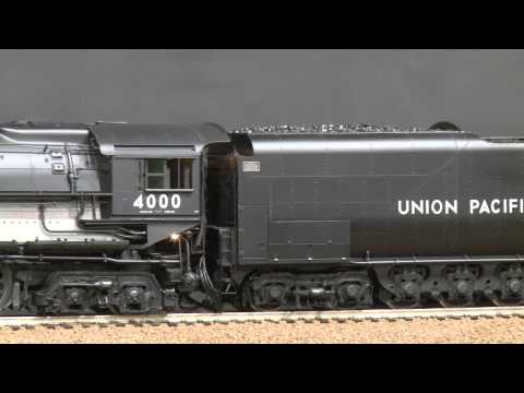 057829-Gauge 1 Brass Model Train - FAM Fine Art Models UP Union Pacific 4-8-8-4 Big Boy #4000 w/ Dis