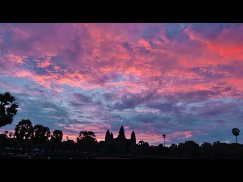 Visiting ANGKOR WAT At 4:30am And ARRIVING In Our NEXT COUNTRY In ASIA