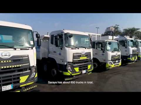 UD Trucks - On the road with Saraya Al Jazirah