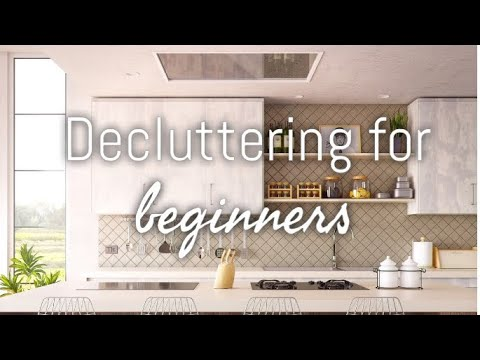 HOW TO DECLUTTER/ORGANISE WITH THESE 4 SIMPLE STEPS (FOR BEGINNERS)
