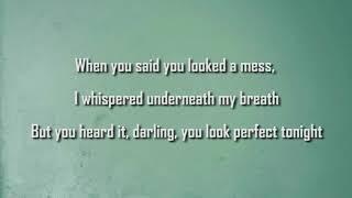 Lirik Lagu Perfect ( Karaoke Musik)
