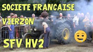 """Démarrage d'un tracteur """"Vierzon"""" HV2 (boule chaude)"""