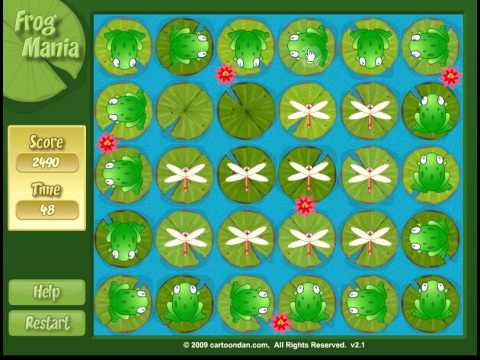 Frog Mania - Puzzle Game