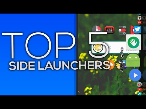 Top 5 Side/Dock Launchers For Android 2016!