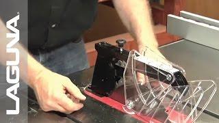 Laguna Tools Fusion Tablesaw Setup - Proper Safety Habits - Part 14 Of 18
