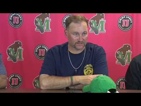 Minot State Football Postgame Press Conference vs. Augustana