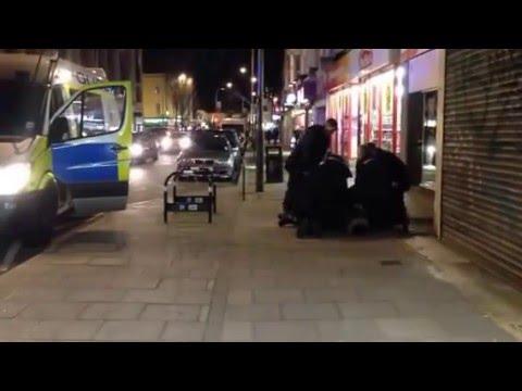London Road arrest