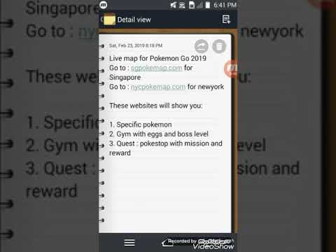 Live map for Pokemon Go 2019