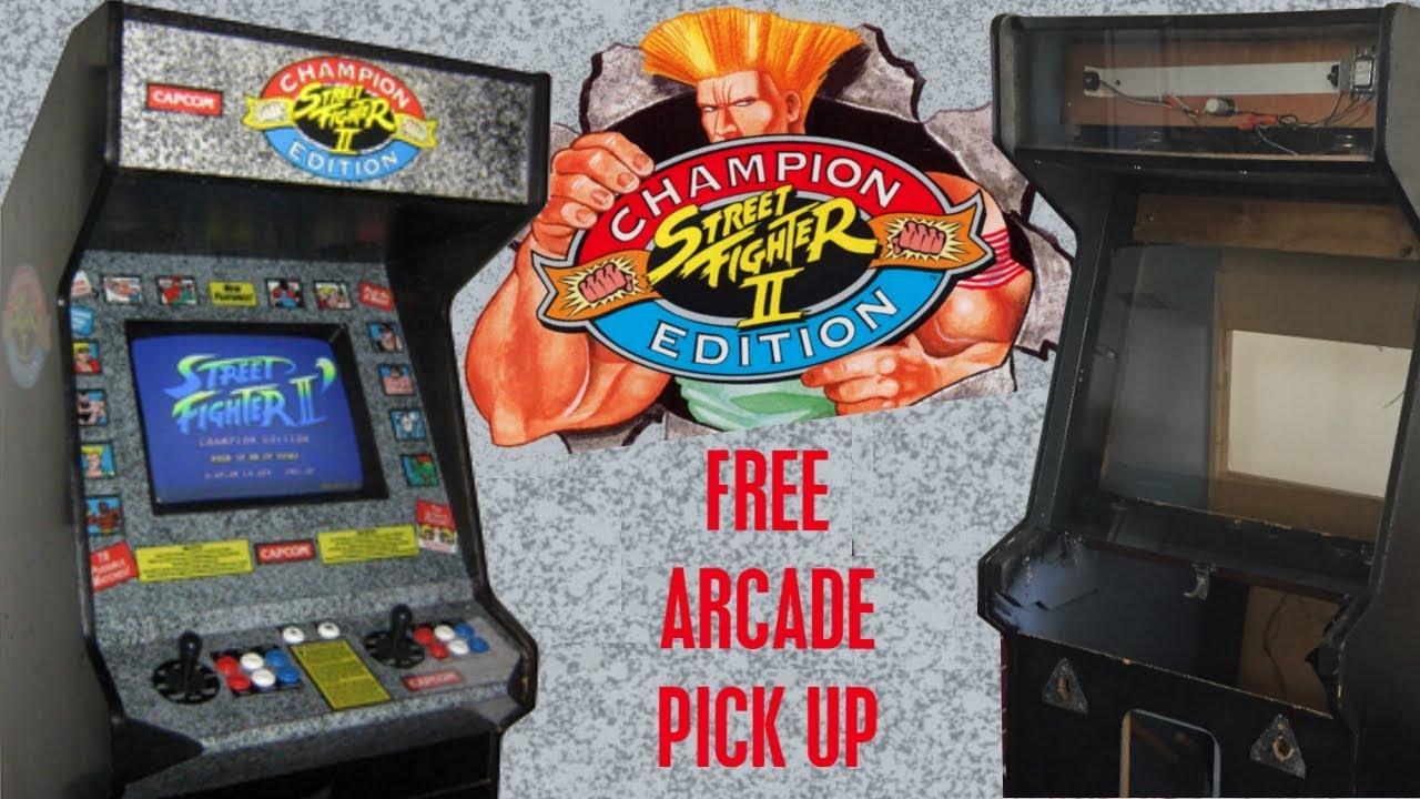 Empty Dynamo Hs5 Street Fighter 2 Ce Arcade Pick Up Youtube