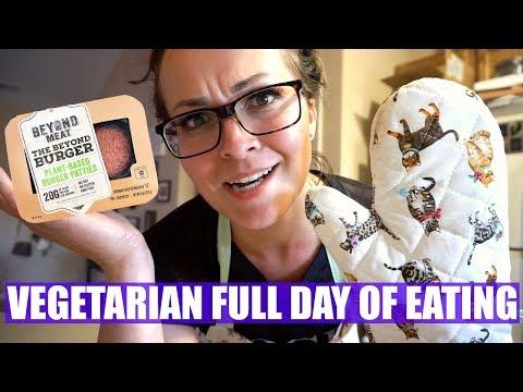 VEGETARIAN (& SOME VEGAN!) Full Day of Eating!