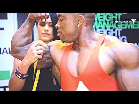 💪💪💪 The biggest biceps at BodyPower expo 2016 | Birmingham UK