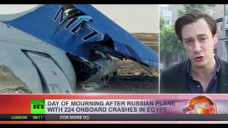 No survivors as Russian 7K9268 jet crashes with 224 on board